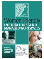 Women-friendly incubators and managed workspaces