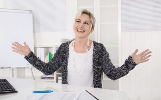Business woman over 50
