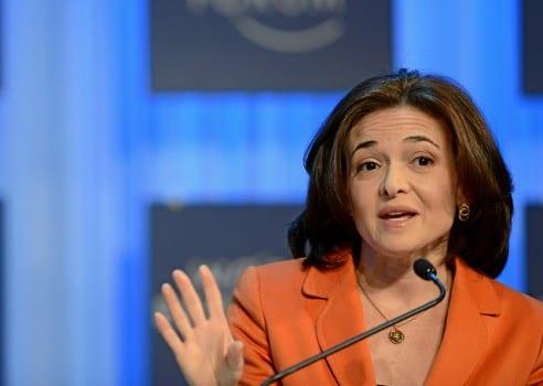 Sheryl Sandberg cc World Economic Forum via Flick