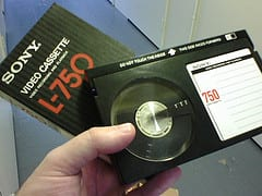 Betamax - the format that didn't make it. (Creative Commons, some rights reserved by  Lawrence Leonard Gilbert)