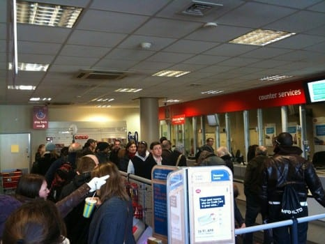 Post office queue