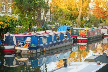 living on a houseboat