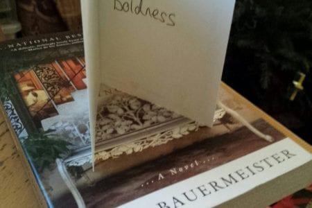 inspirational card and book