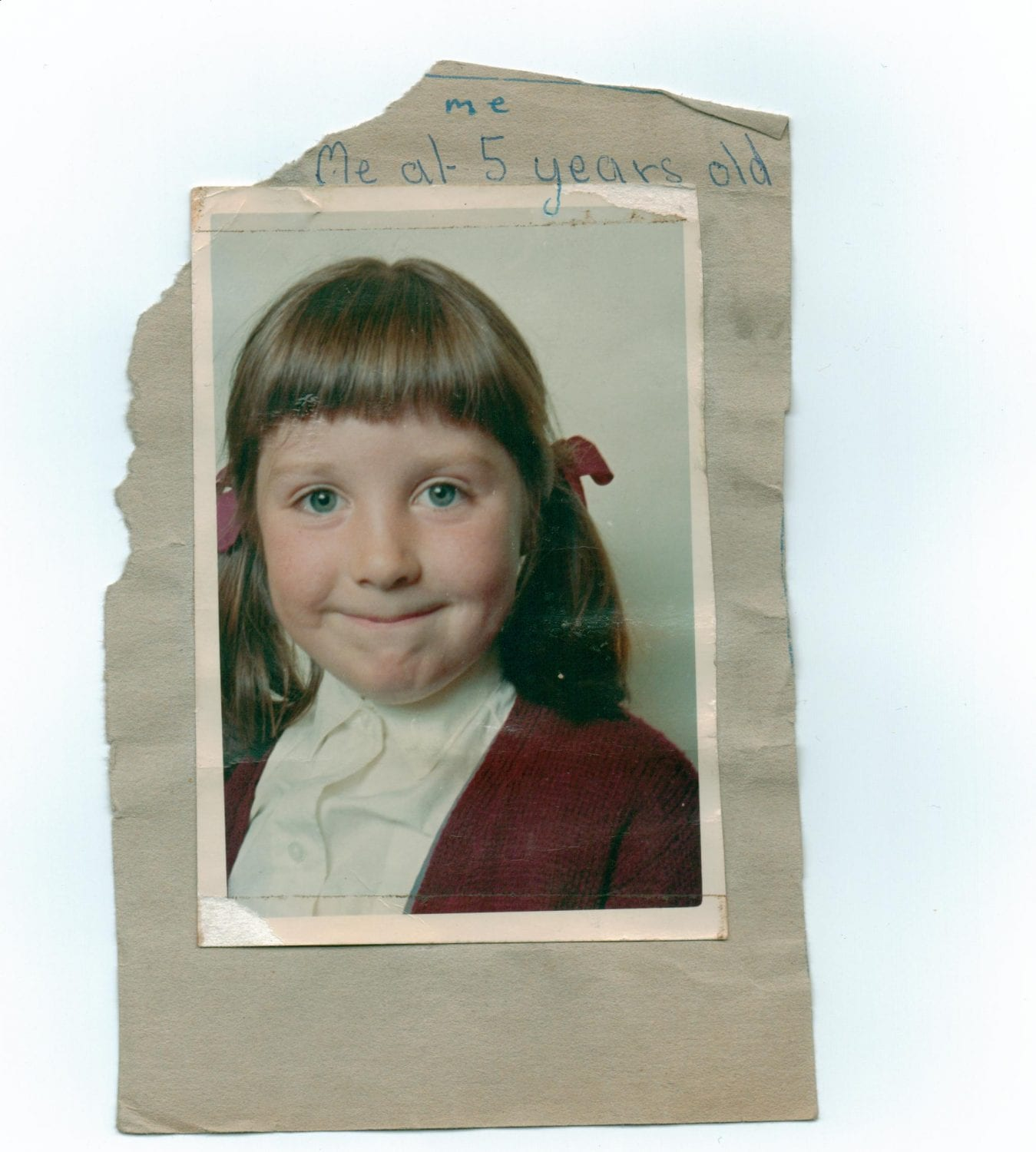 Katie Day aged 5