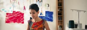 Creative businesswoman business-planning