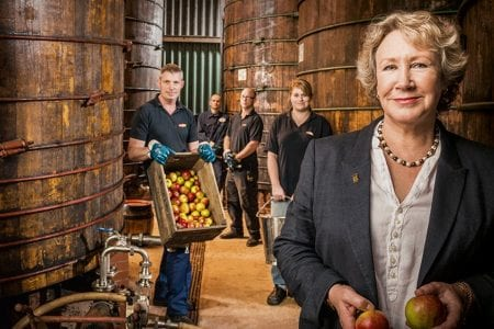 Helen Thomas, Weston Cider