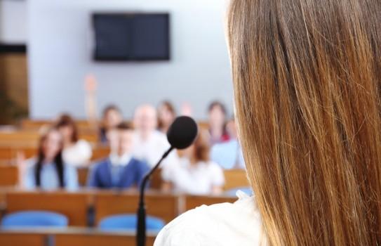 Public speaking women