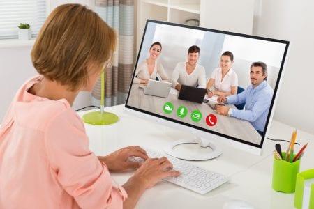 video conferencing team